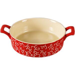 Форма для запекания круглая 30х23х7см Appetite красная (YR100038Q-12)