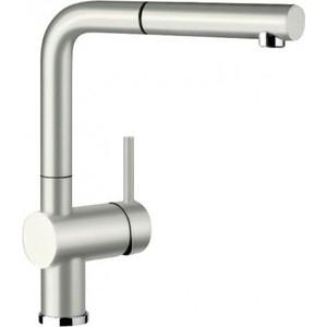 Смеситель для кухни Blanco Linus-S Silgranit с выдвижным изливом, жемчужный (520747)