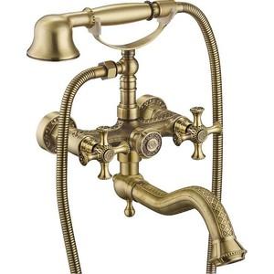 Смеситель для ванны ZorG Antic (A 7000W-BR) бронза