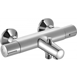 Термостат для ванны Jacob Delafon July (E45714-CP) смеситель для ванны jacob delafon july e16031 4 cp