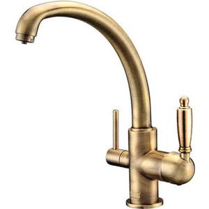 Смеситель для кухни ZorG Clean Water (ZR 315 YF-33 BR) смеситель для кухни zorg clean water zr 314 yf 33 br бронза