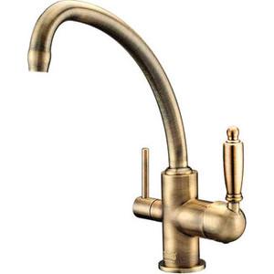 Смеситель для кухни ZorG Clean Water (ZR 316 YF-33 BR) смеситель для ванны zorg cologne zr 106 w