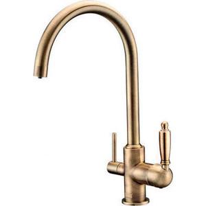 Смеситель для кухни ZorG Clean Water (ZR 317 YF-33 BR) смеситель для кухни zorg clean water zr 314 yf 33 br бронза