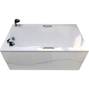 Ванна из литого мрамора Фэма Стиль Алассио 160 160х74 см