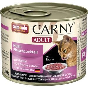 Консервы Animonda CARNY Adult коктейль из разных сортов мяса для кошек 200г (83702)