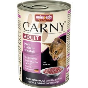 Консервы Animonda CARNY Adult коктейль из разных сортов мяса для кошек 400г (83718)