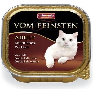 Консервы Animonda Vom Feinsten Adult коктейль из разных сортов мяса для кошек 100г (83441) фото