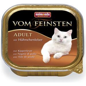 Консервы Animonda Vom Feinsten Adult с куриной печенью для кошек 100г (83443) фото