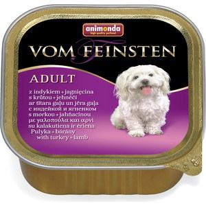 Консервы Animonda Vom Feinsten Adult с индейкой и ягненком для собак 150г (82965) цена
