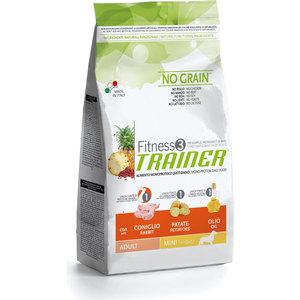 Сухой корм Trainer Fitness3 No Grain Mini Adult Rabbit&Potatoes беззерновой с кроликом и картофелем для собак мелких пород 2кг
