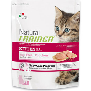 Сухой корм Trainer Natural Kitten для котят от 1 до 6 месяцев 1,5кг