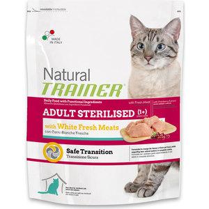 Сухой корм Trainer Natural Adult Sterilised Fresh White Meats с белым мясом для стерилизованных кошек 1,5кг фото
