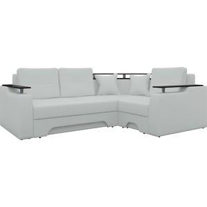 Угловой диван Мебелико Комфорт-6 правый, весь - Легенда белый