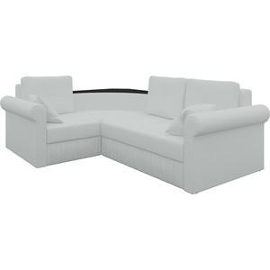 Угловой диван АртМебель Юта-2 левый, весь - Легенда белый