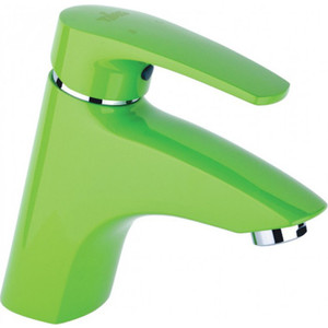 Смеситель для раковины Timo Beverly зеленый (0051F green) лампа противомоскитная thermacell halo mini repeller green цвет зеленый в комплекте лампа 1 газовый картридж 3 пластины