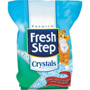 Наполнитель Fresh Step Crystals - впитывающий силикагель для кошек 3,62кг