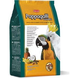 Корм Padovan GRANDMIX Pappagalli комплексный основной для крупных попугаев 2кг