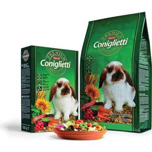 Корм Padovan PREMIUM Coniglietti комплексный основной для кроликов и молодняка 2кг