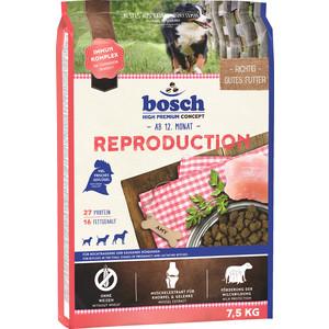 Сухой корм Bosch Petfood Reproduction для беременных и кормящих собак 7,5кг