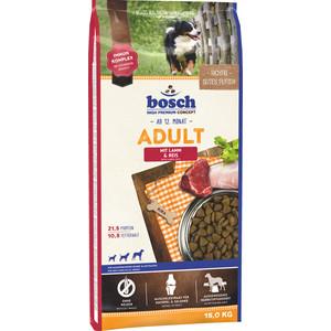 Сухой корм Bosch Petfood Adult Lamb & Race с ягнёнком и рисом для взрослых собак 15кг фото