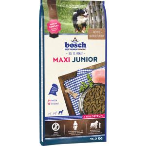 Сухой корм Bosch Petfood Junior Maxi для щенков крупных пород 15кг фото