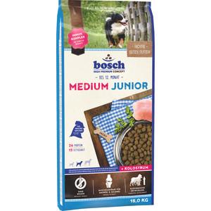 Сухой корм Bosch Petfood Junior Medium для щенков средних пород 15кг