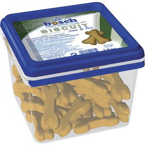 Лакомство Bosch Petfood Biscuit Lamb & Rice бисквит с ягнёнок и рисом укрепление десен для собак 1кг