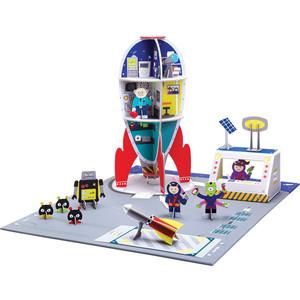 Игрушки из картона Krooom набор Космическая миссия (k-306)