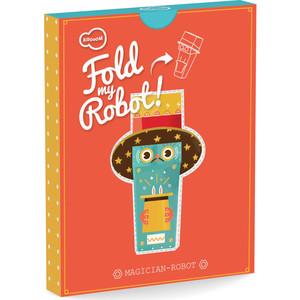 Игрушки из картона Krooom модель Fold my. Робот фокусник (k-464)