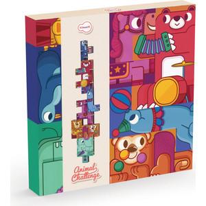 Игрушки из картона Krooom 3D пазл - головоломка Цирк (k-801) dilemma головоломка пазл 8