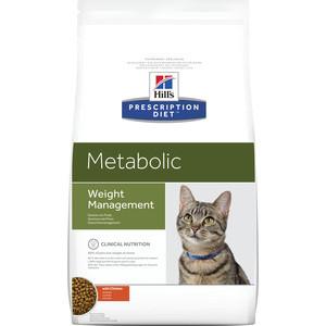Сухой корм Hills Prescription Diet Metabolic Weight Managment диета при коррекции веса для кошек 1,5кг (2147)