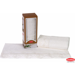 Полотенце Hobby home collection Almeda 50x90 см кремовый (1501000372)