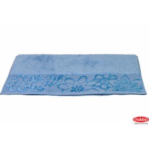 цена Полотенце Hobby home collection Dora 70x140 см светло-голубой (1501000452) онлайн в 2017 году