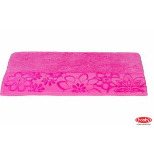 цена Полотенце Hobby home collection Dora 70x140 см темно-розовый (1501000453) онлайн в 2017 году