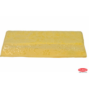 Полотенце Hobby home collection Dora 100x150 см желтый (1501000427)