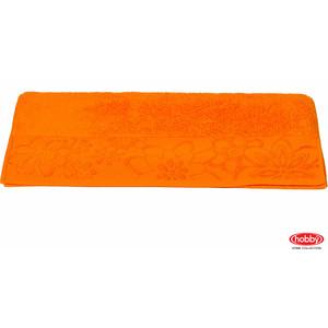 цена Полотенце Hobby home collection Dora 100x150 см оранжевый (1501000429) онлайн в 2017 году