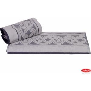 Полотенце Hobby home collection Hurrem 50x90 см серый (1501000484) полотенце hobby home collection feraye 50x90 см темно серый 1501000765