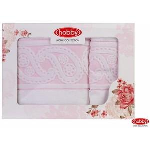 Набор из 2 полотенец Hobby home collection Hurrem 50x90/70x140 белый (1501001221) недорого