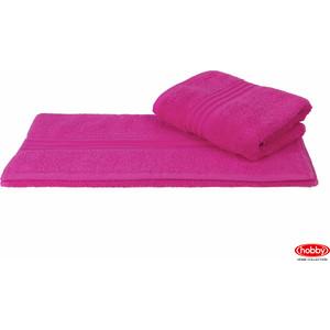 Полотенце Hobby home collection Rainbow 70x140 см темно-розовый (1501000578)