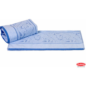 Полотенце Hobby home collection Sultan 50x90 см голубой (1501000585) цена