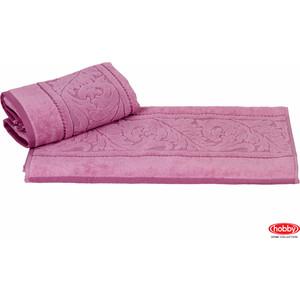 Полотенце Hobby home collection Sultan 50x90 см розовый (1501000588) банное полотенце hobby home collection 70х140 см sultan
