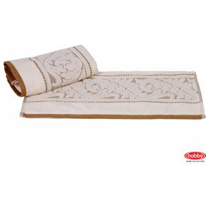 Полотенце Hobby home collection Sultan 70x140 см кремовый (1501000594) банное полотенце hobby home collection 70х140 см sultan