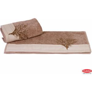 Полотенце Hobby home collection Infinity 50x90 см светло-коричневый (1501000783)