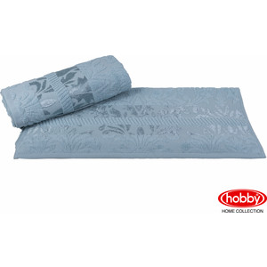 цена Полотенце Hobby home collection Versal 70x140 см зеленый (1607000105) онлайн в 2017 году