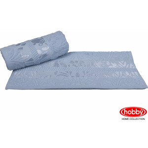 Полотенце Hobby home collection Versal 100x150 см голубой (1607000089)