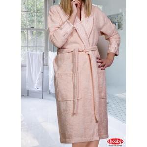 купить Халат женский Hobby home collection Eliza S персиковый (1501000844) дешево