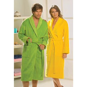 Халат женский Hobby home collection Angora L желтый (1501000828) цена