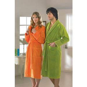 Халат женский Hobby home collection Angora S оранжевый (1501000829) цена