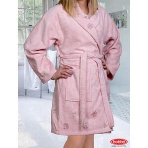 Халат женский Hobby home collection Janet L пудра (1501000864) цены онлайн