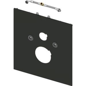 Нижняя панель TECE lux для унитазов-биде Geberit Aquaclean Sela, стекло чёрное (9650108) цена